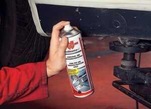 Шпатлевка и окраска участков ремонта кузова